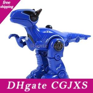 Presente Toy Robot MGRC T16 inteligente Rc Robot Dinosaur programável Cante voz Interação