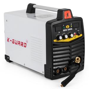 Neues Produkt 2020 MIG 280A IGBT-Inverter Welder MIGMMA 2 in 1 beweglichem Schweißgerät Video technische Unterstützung