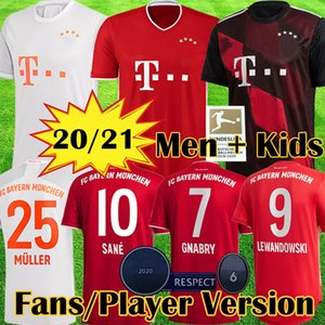 Bayern de Munique Camisa de futebol 2021 2020 soccer jersey football shirt LEWANDOWSKI MULLER KIMMICH 21 20 HUMMELS Camisa de futebol 120º aniversário 120 anos