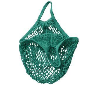 Shopping Bags Handbags Shopper Tote Mesh Net Woven Cotton Bags String Reusable Fruit Storage Bags Handbag Reusable Home Storage Bag