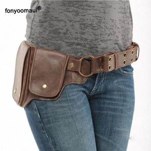 Pin On Waist Hip Packs Pouch Bag Viking Pocket Belt Leather Wallet Travel Steampunk Fanny Gear Accessory Cosplay For Women l82Z#