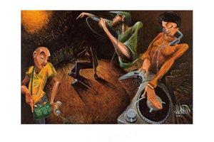 David Garibaldi The Get Down Home Decor dipinto a mano HD Dipinti Stampa Olio su tela Wall Art Immagini 7583