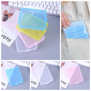 Mask Storage Case Disposable Face Masks Container Safe dustproof Disposable Mask Storage portable Box Organizer FFA4405