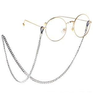óculos de aço inoxidável anti-derrapante óculos de sol não-fading Sun corrente anti-derrapantes anti-skid nonskid cadeia Aço 6w2Sf