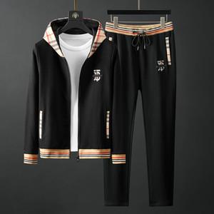 2020 neue Marke Sportswear für Männer, Mode Sport Joggen bequeme Sportkleidung, High-End-Atmosphäre Winter Mode lässig style # Q215