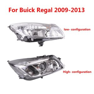 CAPQX For Buick Regal 09 13 Front Bumper Head Light Headlamp Driving Day Lamp Clear Wateproof Headlight Assemby