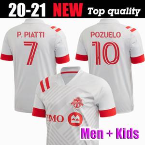 2020 2021 MLS Toronto FC de fútbol Jersey 20 21 niños hombres equipación # 17 # 10 ALTIDORE camiseta de fútbol POZUELO Toronto Morrow BRADLEY Uniforme de fútbol