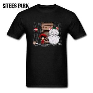 O-Neck Tees My Neighbor Karin Funny My Neighbor Totoro Youth Short Sleeved Saiyan T-Shirts Youth Design T shirt