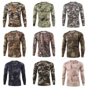 Designer camice maglietta a maniche lunghe da uomo traspirante superdotati parti superiori casuali spting autunno Mens # 698