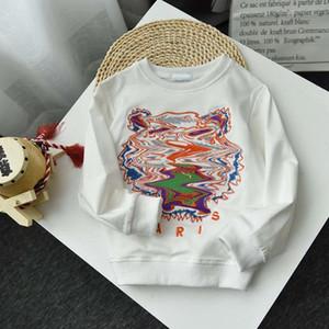 Crianças Designer de Moda capuz 2020 Tiger Bordado Tops para meninos das meninas na moda Crianças Hoodies