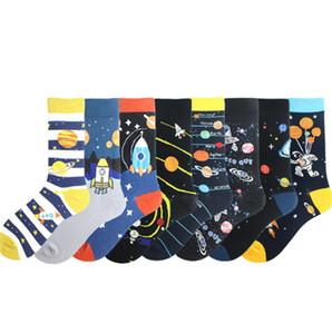 Neuheit Glückliche Lustige Männer Graphic Socken Design Mode Lange Socken Durchschnittliche Größe Männer Socken Funky Lustiges reizende Socken für Männer Frau weicher Baumwolle DHL