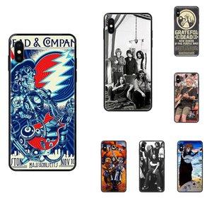 Для Apple iPhone 11 12 Pro X XR XS MAX 5 5S 5C SE 6 6S 7 8 Plus музыкальной группы Grateful Dead Ultra Thin мультфильм Pattern