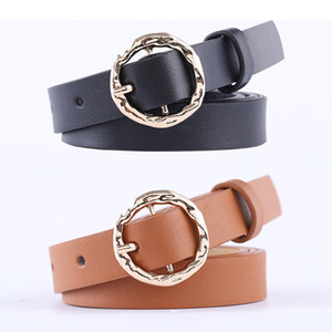 New Wide Black Brown Leather Waist Belt Ceinture Femme Woman O Ring Belts for Women Dress Cinturones Para Mujer