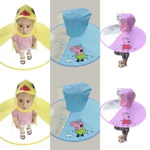 heS9f TikTok çocuk UFO TikTok Çocuk olmayan tek yağmurluk branda sarı ördek anaokulu küçük bebek UFO şemsiye p wWSJl panço