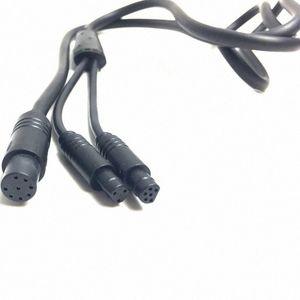 Ebike YSplitter кабель шнур 1 до 2 водонепроницаемого кабеля для XH18 приборных велосипедов Модификации для Tongsheng двигатель TSDZ2 Rllv #
