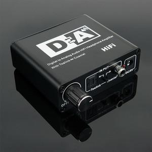 ou dhl fedex Digital-analogique audio Hi-Fi Casque amplificateur avec adaptateur Toslink coaxial pour la télévision ENCEINTES