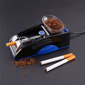 Electric Easy Automatic Cigarette Rolling Machine Automatic cigarette maker Maker Roller Drop Smoking Tool Portable US EU Plug