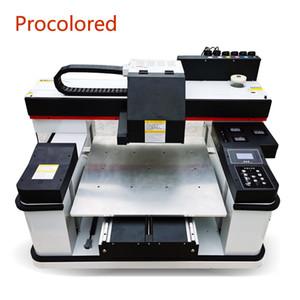 Procolored Dual печатающего 12 цветов Струйного принтер DTG Автоматического LED UV планшетных принтеры A2 6060 Размер печати Для Tshirt Вуд DIY