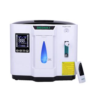 Concentratore di ossigeno portatile approvato CE 1-7L Purificatore d'aria Generatore di ossigeno Generatore di ossigeno domestico con telecomando Dedakj-1e / 1BE
