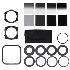 Universal Neutral Density Nd2 4 8 16 Filter With 49 -82mm Adaptor Ring For Cokin P Set Slr Dslr Camera Lens Photo