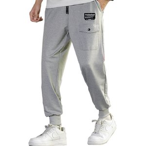 Side uomo tasche cargo Harem 2020 Hip Hop Casual Male tatical jogging pantaloni di modo Pantaloni Streetwear