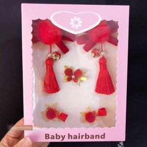 6Z0k0 bambini fa shi ha bambino copricapo copricapo accessori per capelli copricapo hua fa Dai neonate imballaggio box bambini coreani accessori capelli