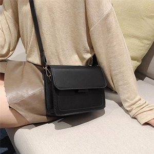 New Cross body Bag For Women 2020 Mini Shoulder Messenger Bags Small Solid Color Tote Handbags Clutch Pouch Female Crossbody Bag