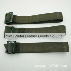 tAB5W 16-Stil gewebt innere Leinwand Trainingskleidung olivgrün taktische Inner Belt Training Nylon Leinwand Gürtel