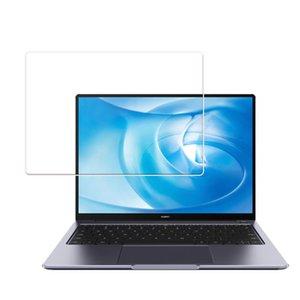 컴퓨터 스크린 프로텍터 100pcs / lot 화웨이 Matebook X 프로 클리어 필름 강화 유리 보호기 14 D14 D15 15.6 13