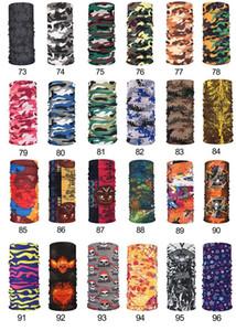 US Stock Camouflage Scarf bandanas Face Mask Summer Sun Protection Silk Chiffon Handkerchief Outdoor Half Face Dust-proof Scarves FY6129