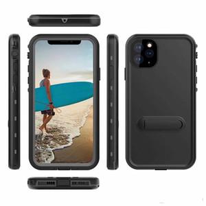 iPhone11 için redpepper Dot MAX 6.5 inçlik su geçirmez Defender Telefon Kılıfı ile Parantez Darbeye Koruyucu Kılıf İçin iPhone11 Saf Renk PRO