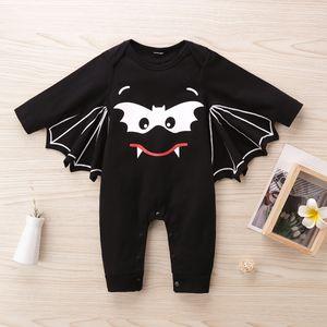 Halloween Baby Romper Fashion Casual Infant Jumpsuit Spring Autumn Unisex Romper 70 80 90 100