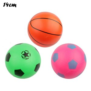 Inflatable Ball Children Funny Football Toy Rubber Beach Ball Sports Training Soft Elastic Soccer Child Gifts Stock