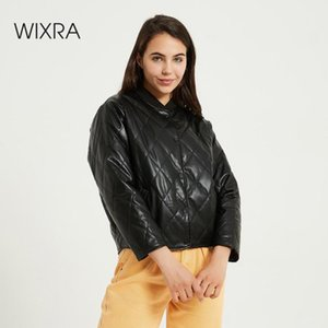 Wixra Donna Giacche Bomber Warm Cappotti Streetwear femminile stand casual collare parka Outerwears Autunno Primavera Nuova