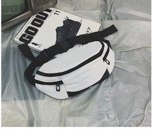 2020 Mode Frauen Männer Hüfttasche Bunte Unisex Gürteltasche Gürteltasche Handy-Reißverschluss-Beutel Packs Gürtel sac
