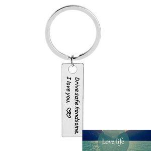 Anahtar Yüzük Sürücü Hediye Chians Sürücü Güvenli Yakışıklı Severler için Zincir Seni Seviyorum Araba Gölder Sevgililer Günü Yüzük Kocası Fabrika Fiyat Uzman Tasarım Kalitesi Hatırlat