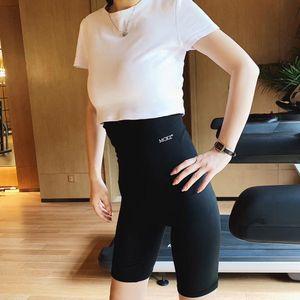 9sf1L sudoroso sudoroso delgadas deporte nano ejercicio de yoga sudor Aliviar Underpants pantalones revestidos vientre que cubre la ropa interior de deportes de plata