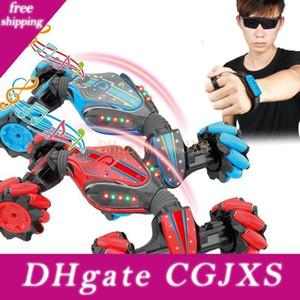 Tout-petit Wirless Rc Car Toys Danse Spinning garçons Voiture Stunt Dump Gesture Remote Control Sensible Twist Cars Auto Enfants Jouets Paquet cadeau 04
