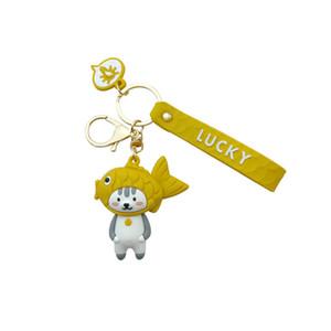 Cabeça de cão japonesa Moda Snapper Panda Porco bolsa pingente cadeia de presente Key