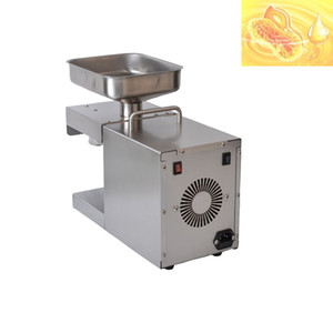 stainless steel Press Automatic Household FLaxseed Oil Extractor Peanut Oil Press Cold Sunflower seedsmachine
