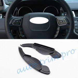 2X automobile Add On Gear volante paddle shift Shifter Lever corredo della copertura di estensione misura per il Jaguar XE XF XJ F Tipo F Pace Accessori auto yRgk #