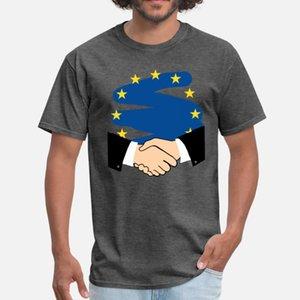 Eu Brexit Deal uomini della maglietta maglietta personalizzata S-XXXL della camicia anti-rughe comico Primavera Autunno ricevimenti