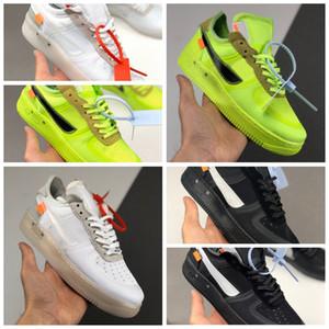 Nike Air Force 1 Low Off-White Volt 2.0 2020 Heißer Verkauf OFF-w WHITE LOW Forces 1 ein 1 07 VIRGIL 2019 Für Serena nur Volt SNEAKERS Sport-laufende Schuhe size36-45