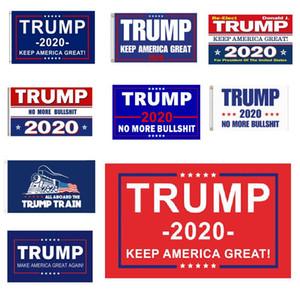 Trump Flag 90 * 150 cm2020 Halten Sie Amerika groß wieder für die amerikanische Präsidentschaftswahl Trumpf Flaggen cheaoer