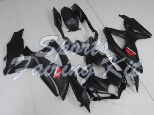 Abs carenagem para a Suzuki GSXR600 2008 - 2010 K8 Matéria Negra Abs Fairing GSXR600 08 09 carenagens GSXR600 08 10