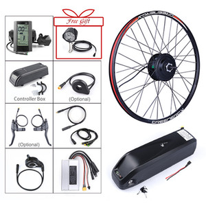 36V 250W Bafang eBike Brushless Gear Rear Hub Motor cassette Electric wheel bike kit with hailong 36V 15.6Ah ebike Battery