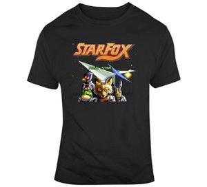 Jogo retro SNES Star Fox Vídeo Fan T Shirt