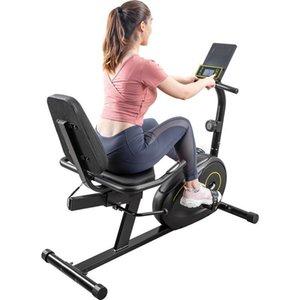 Multifunzionale Peso Panche Recumbent Cyclette con 8 livelli di resistenza, Bluetooth Monitor 380lb Peso Capacità US STOCK MS193107BAA