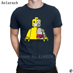 robot Domination T Shirts male 100% Personality Better tshirt for men Letter Pop Top Tee Hot sale Anlarach Summer Style