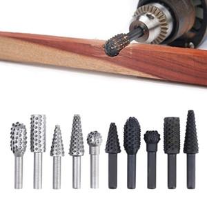 10PCS 1 4\'\' Drill Bit Set Woodworking Cutting Tools Wood Bits